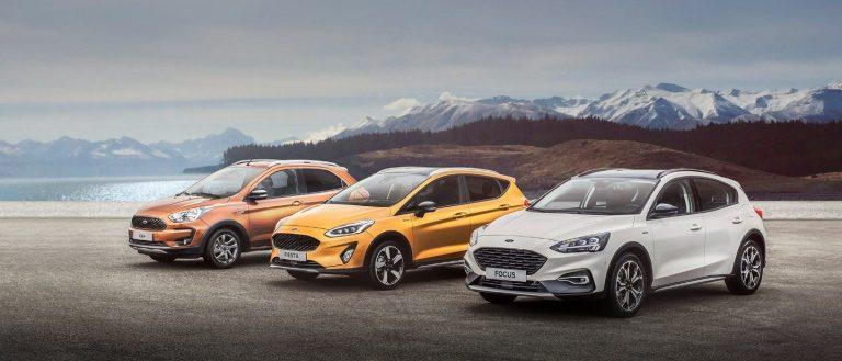 Nueva gama Ford Active